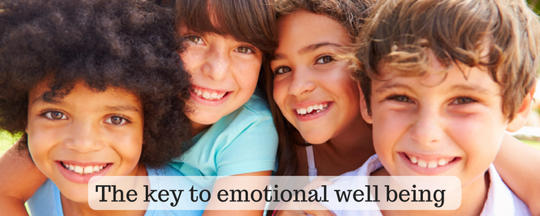 The key to emotional well being